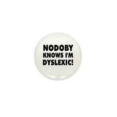 Nodoby's Mini Button (100 pack)