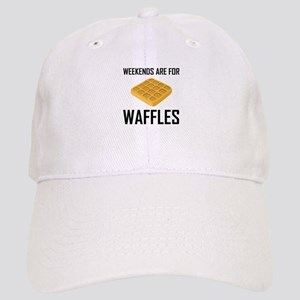 Weekends Are For Waffles Baseball Cap