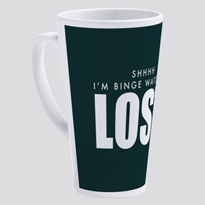 Lost Shhh Binge Watching 17 oz Latte Mug