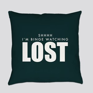 Lost Shhh Binge Watching Everyday Pillow