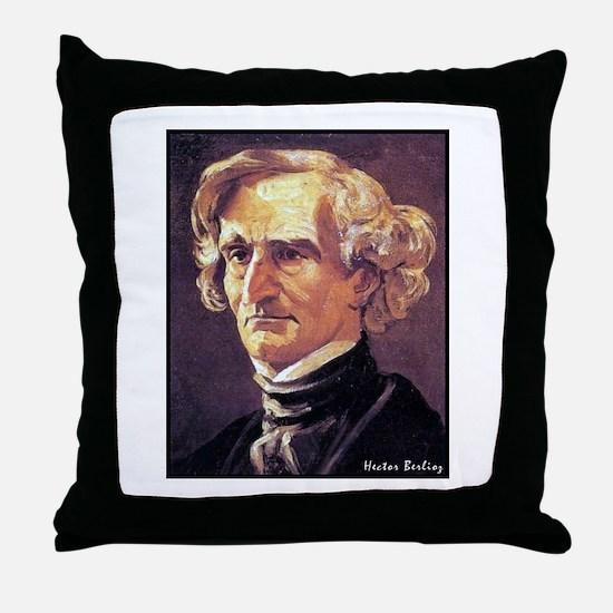 "Faces ""Berlioz"" Throw Pillow"
