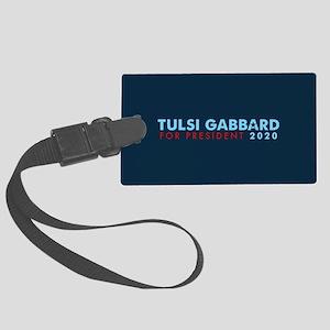 Tulsi Gabbard for President Large Luggage Tag