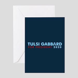 Tulsi Gabbard for President Greeting Card