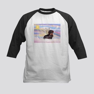 Wire Haired Doxie Kids Baseball Jersey