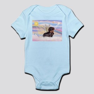 Wire Haired Doxie Infant Bodysuit