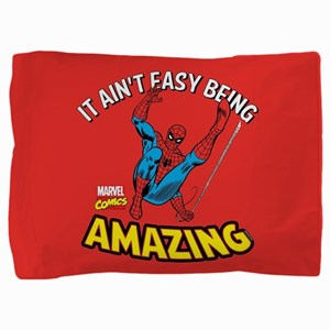 Spider-Man Amazing Pillow Sham