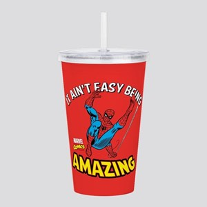 Spider-Man Amazing Acrylic Double-wall Tumbler
