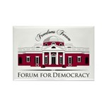 Forum for Democracy Rectangle Magnet (100 pack)