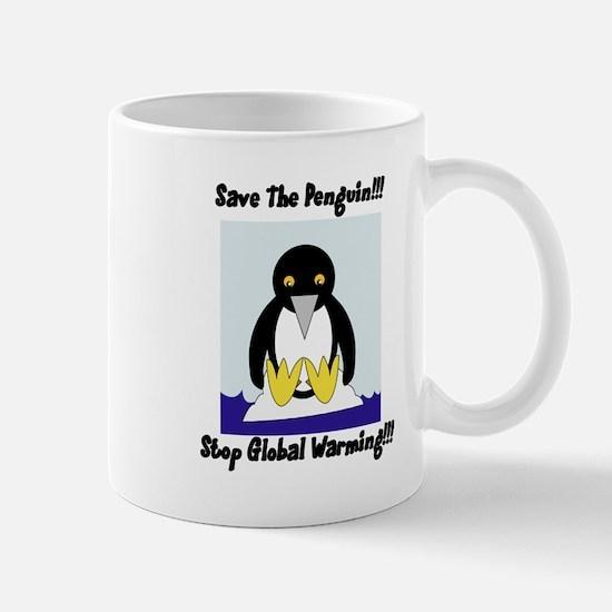 Save The Penguin Mug