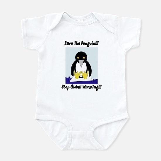 Save The Penguin Infant Bodysuit