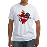 LOVE OF SPEED Fitted T-Shirt