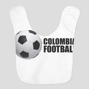 Colombia Football Polyester Baby Bib
