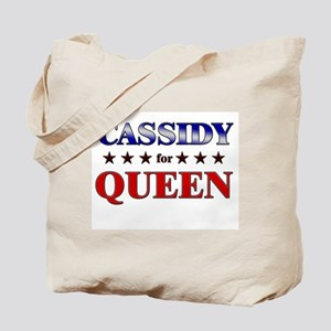CASSIDY for queen Tote Bag