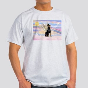 Dobie Angel in Clouds Light T-Shirt