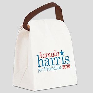 Kamala Harris for President Canvas Lunch Bag