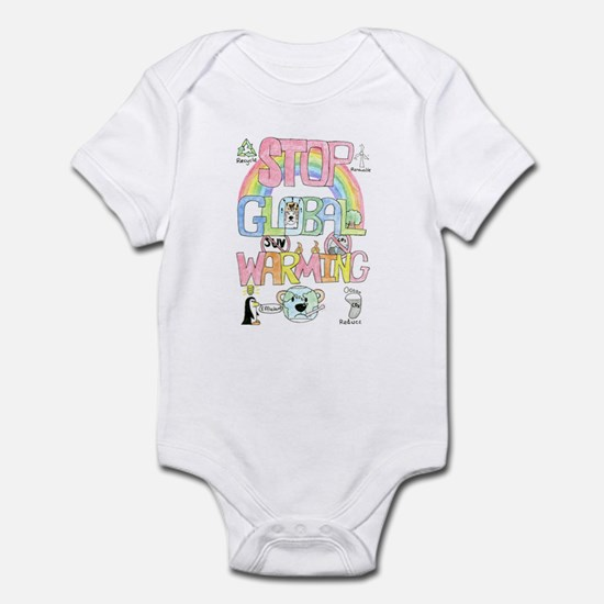 Stop Global Warming Infant Bodysuit