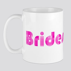 Bridesmaid - Pink Bubble Retr Mug