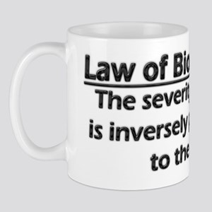 Law of Biomechanics Mug