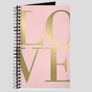 Blush Pink LOVE Journal
