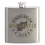 Spring Break Afghanistan 2018 Flask