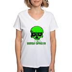 EVIL EYES Women's V-Neck T-Shirt