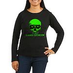 EVIL EYES Women's Long Sleeve Dark T-Shirt