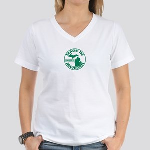Drink Michigan Beer!  Women's V-Neck T-Shirt
