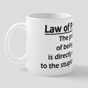 Law of Probability Mug
