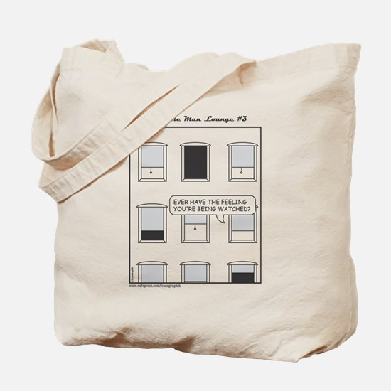 The Invisible Man Lounge No 3 Tote Bag