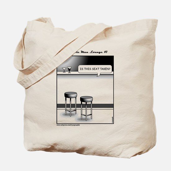 The Invisible Man Lounge No 1 Tote Bag