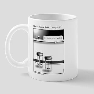 The Invisible Man Lounge No 1 Mug