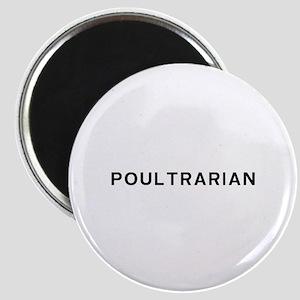 Poultrarian Vegetarian Magnet