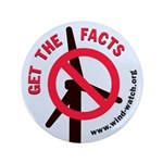 """Get The Facts 3.5"""" Button (100 Pack)"""