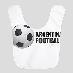 Argentina Football Polyester Baby Bib