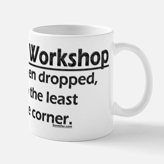Law of the Workshop Mug