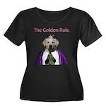 The Golden Rule Women's Plus Size Scoop Neck Dark