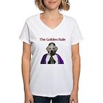 The Golden Rule Women's V-Neck T-Shirt
