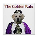 The Golden Rule Tile Coaster