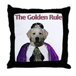 The Golden Rule Throw Pillow