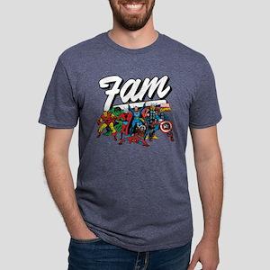 Marvel Comics Fam Mens Tri-blend T-Shirt
