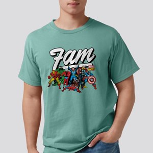 Marvel Comics Fam Mens Comfort Colors Shirt