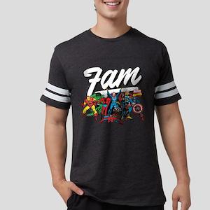 Marvel Comics Fam Mens Football Shirt