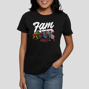 Marvel Comics Fam Women's Classic T-Shirt