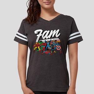 Marvel Comics Fam Womens Football Shirt