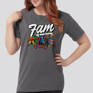 Marvel Comics Fam Womens Comfort Colors Shirt