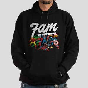 Marvel Comics Fam Hoodie (dark)