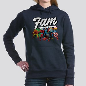 Marvel Comics Fam Women's Hooded Sweatshirt