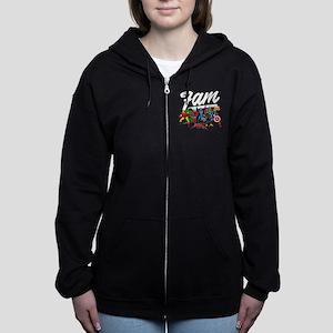 Marvel Comics Fam Women's Zip Hoodie