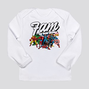 Marvel Comics Fam Long Sleeve Infant T-Shirt