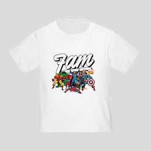 Marvel Comics Fam Toddler T-Shirt